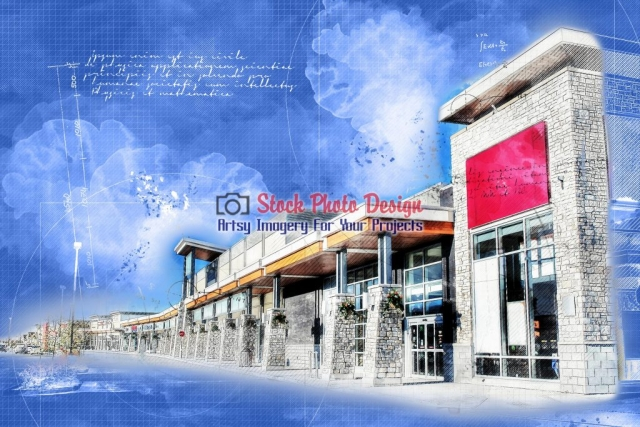HDR-stores-in-Blueprint - Great Artsy RF Images for all your website creations and projects
