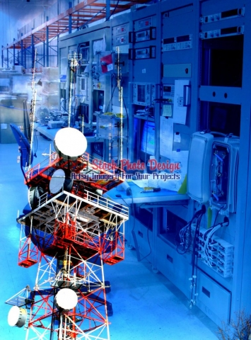 Modern-Communication-Equipments-Photo-Montage Artsy RF Picture