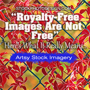 Royalty-Free Images are not really free
