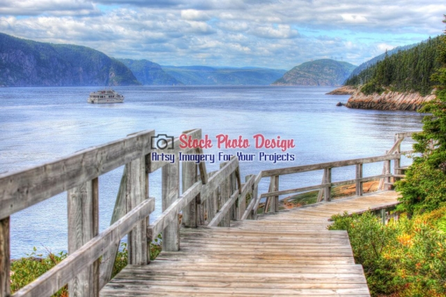 Beaufitul Saguenay River - Great Artsy RF Images for all your website creations and projects