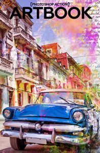 Art Book Photoshop Special Effect