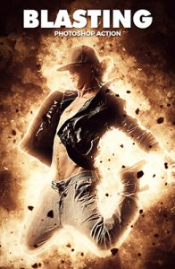 Blasting Photoshop Special Effect