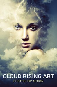 Cloud Rising Photoshop Special Effect