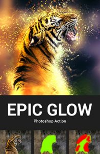 Epic Glow Photoshop Special Effect