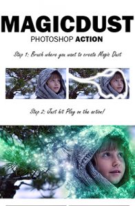 Magic Dust Photoshop Special Effect