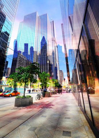 Downtown Office Street 3
