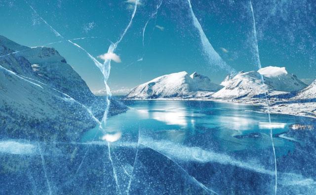 Unleashed Ice Age Stock Image