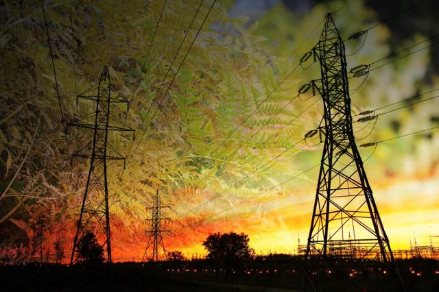 Greener Energy Supply Stock Image
