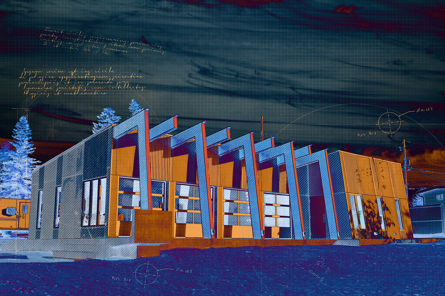 Stylish Building Construction Special FX Design